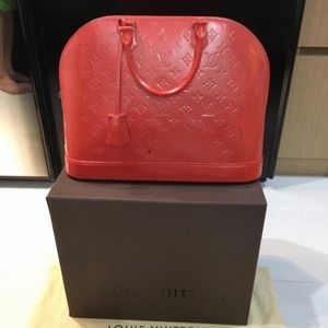 Louis Vuitton Alma MM Orange Sunset #SOLD